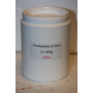 Forellpellets 0,7 mm