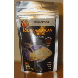 South american Spirulina pearls