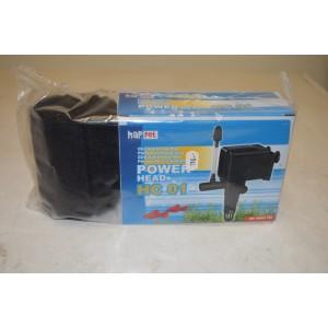 Powerhead HC01 med svampfilter 10 cm