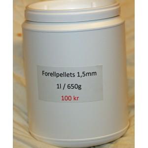 Forellpellets 1,5 mm
